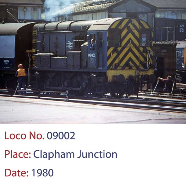 09002 diesel shunter clapham junction