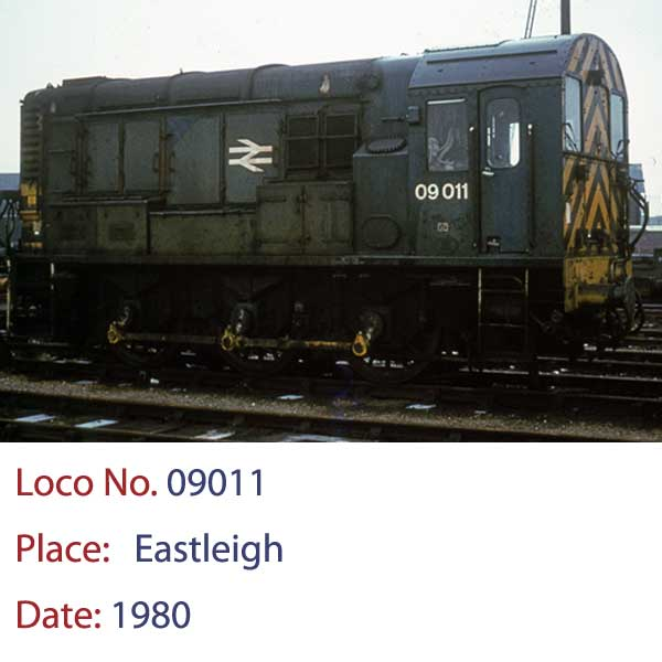 09011 Disel Shunter Eastleigh