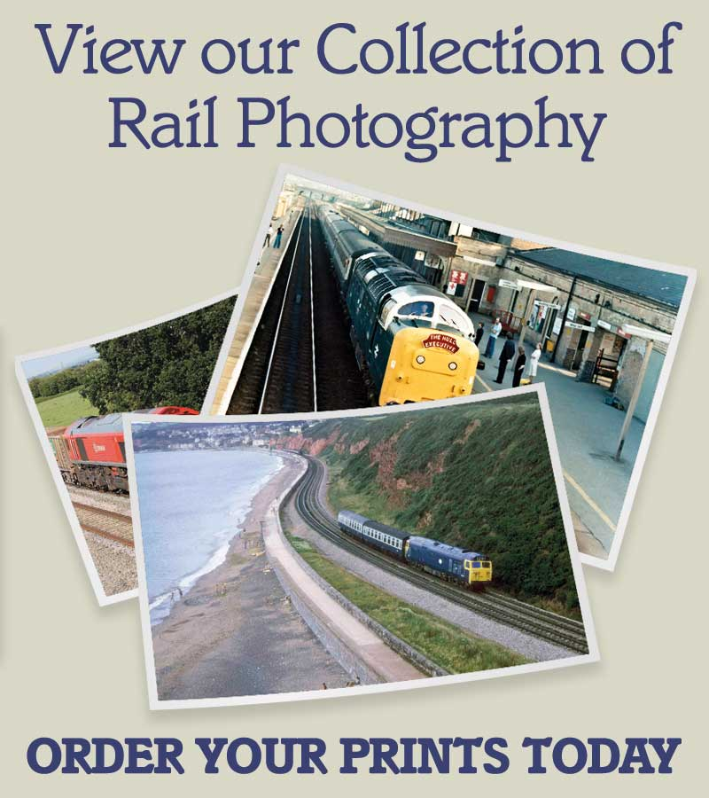 View our collection of Rail Photographs